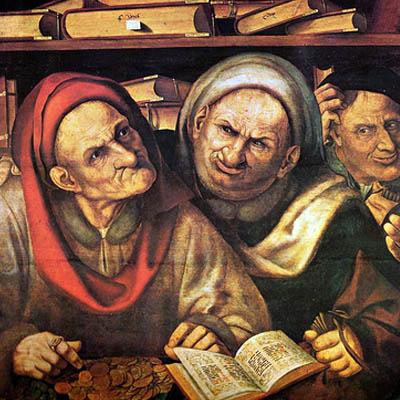 Prontuario del Predicatore. Sentenze di Sant'Agostino sull'avarizia